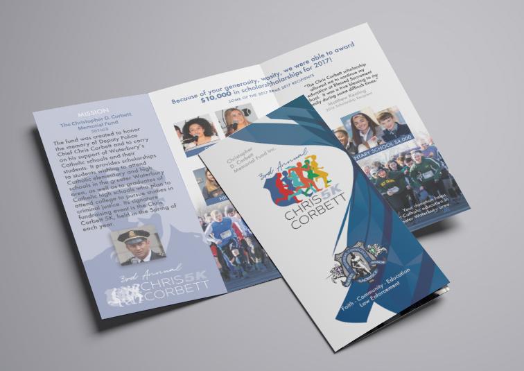 Chris Corbett 5k Race Brochure