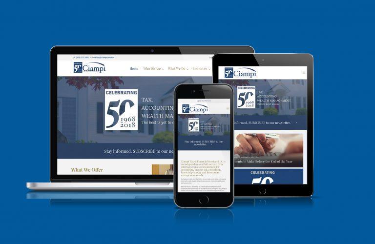 Ciampi Tax & Financial Services Website