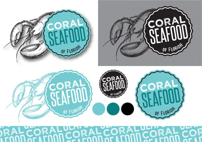 Coral Seafood Restaurant Logo